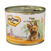 Мнямс Рагу по-ланкаширски Куриное филе с травами для собак