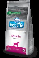 Farmina Vet Life STRUVITE Canine Фармина Вет Лайф Диета для собак при мочекаменной болезни