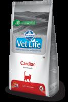 Farmina Vet Life CARDIAC Feline Фармина Вет Лайф Диета для кошек при сердечной недостаточности