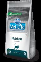 Farmina Vet Life HAIRBALL Feline Фармина Вет Лайф Диета для кошек выведение волосяных комочков