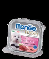 Monge PATE e BOCCONCINI con TONNO Монж Нежный паштет из тунца