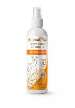Animal Play Энимал Плей Спрей приучение к туалету для собак и кошек