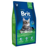 Brit Premium Cat Sterilised Полнорационный корм премиум-класса для кастрированных котов и стерилизованных кошек