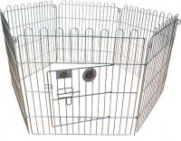 Купить Вольер для собак металлический, оцинкованный, 6 секций 91х61 см