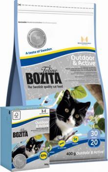 BOZITA Feline Funktion Outdoor & Active сухое питание для взрослых и молодых кошек, ведущих активный образ жизни