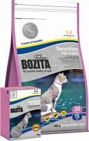 BOZITA Feline Sensitive Hair & Skin для взрослых и молодых кошек с чувствительной кожей и шерстью, для длинношерстных кошек