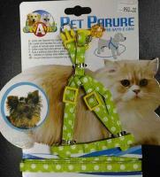 Шлейка плюс поводок для кошек и мелких собак