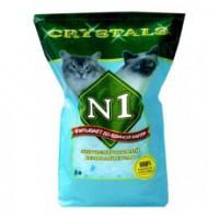 №1 Силикагелевый наполнитель, 12,5л: Синий (Crystals)