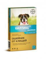 Килтикс ошейник от блох и клещей для средних собак. 53 см