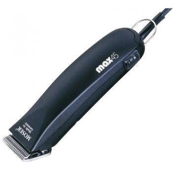 Машинка Moser ANIMAL CLIPPER Max 45 1245-0070 для стрижки животных, нож 1 мм, две насадки 10,16 мм