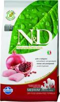 Farmina N&D Chicken & Pomegranate Adult Фармина Полнорационный корм для взрослых собак курица, гранат