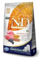 N&D Low Grain Dog Lamb & Blueberry Puppy Medium & Maxi Фармина Полнорационный низкозерновой корм для щенков средних и крупных пород ягненок, черника