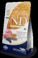 Farmina N&D Low Grain Cat Lamb & Blueberry Adult Фармина Низкозерновой сухой корм для взрослых кошек ягненок, черника
