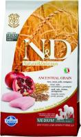 Farmina N&D Low Grain Chicken & Pomegranate Adult Фармина Полнорационный низкозерновой корм для взрослых собак курица, гранат
