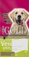 Nero Gold Venison&Potato Неро Голд Сухой корм для взрослых собак c олениной и сладким картофелем