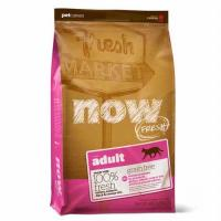 Now Natural Fresh Grain Free Adult Cat Нау беззерновой для взрослых кошек с индейкой, уткой и овощами