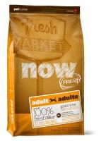 Now Natural Adult Grain Free Нау Беззерновой сухой корм для взрослых собак с индейкой, уткой и овощами