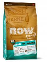 Now Natural Fresh Adult Large Breed Recipe Grain Free Нау Беззерновой сухой корм для Взрослых собак Крупных пород с Индейкой, Уткой и овощами