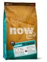 Now Natural Senior Нау Контроль веса - беззерновой корм для Собак Крупных пород с Индейкой, Уткой и овощами