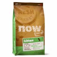 NOW Natural Kitten Fresh Grain Free Нау Киттен беззерновой для котят с индейкой, уткой и овощами
