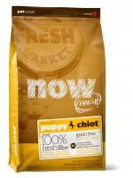 Now Natural Puppy Нау Паппи Беззерновой сухой корм для щенков с индейкой, уткой и овощами