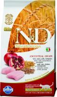 Farmina N&D Low Grain Cat Chicken & Pomegranate Фармина Низкозерновой сухой корм для стерилизованных кошек курица, гранат