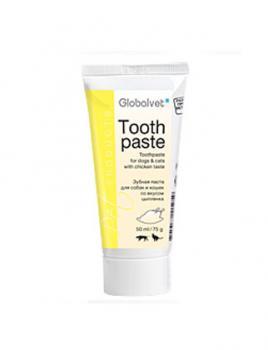 GlobalVet Pet Products Зубная паста для собак и кошек со вкусом курицы (Tooth paste)