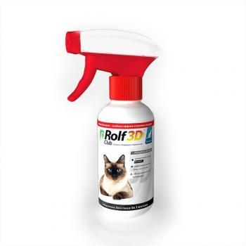 РольфКлуб 3D Спрей от блох и клещей для кошек